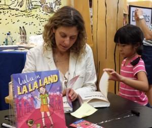 Lulu in La La Land Book Signing