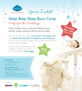 Sleep Baby Sleep Boot Camp