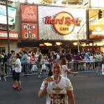 Running Around Hollywood – The Hard Rock Cafe 5k