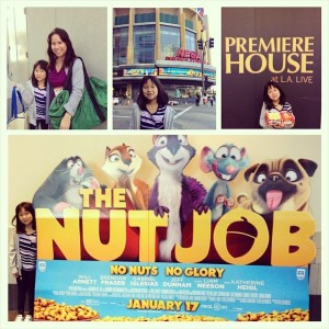 The Nut Job Premiere