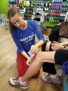KT Tape Clinic at Fleet Feet Sports