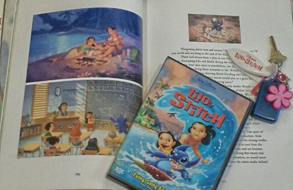 (That Lilo & Stitch surfboard keychain in the upper-right corner is my fave film souvenir from DCP.)