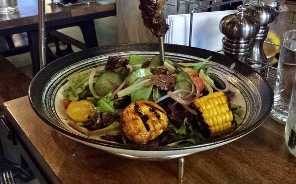 (close-up of salad)