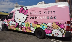Hello Kitty Cafe Truck is Coming to Valencia Town Center! #Awesometown