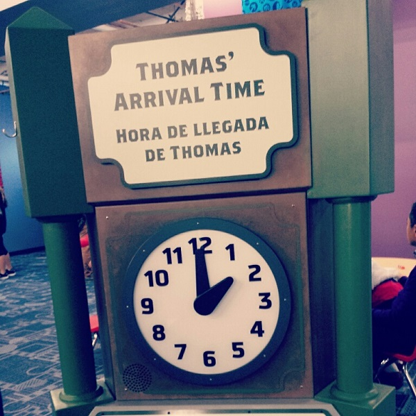 Thomas and Friends_Time Clock