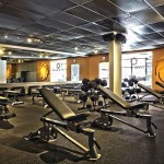 Weightlifting at Novo Body Fitness in Encino