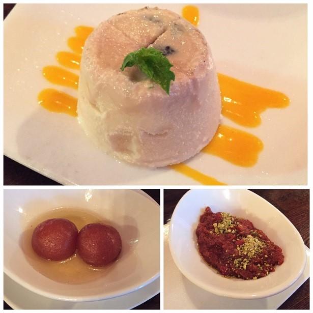 Mint Leaf Indian Cuisine Desserts