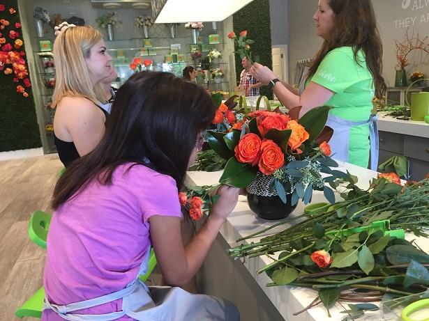 Fleurish - Placing Roses