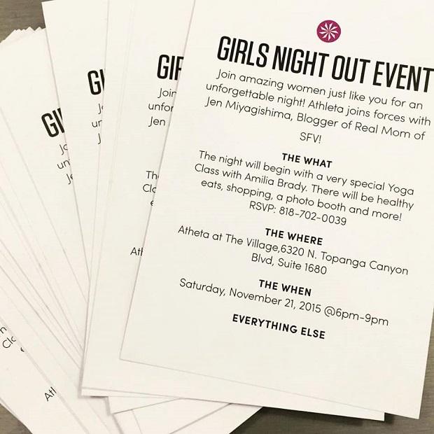 Girls Night Out Invitation