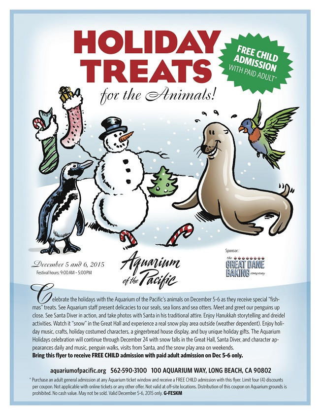 Holiday Treats Flyer 2015