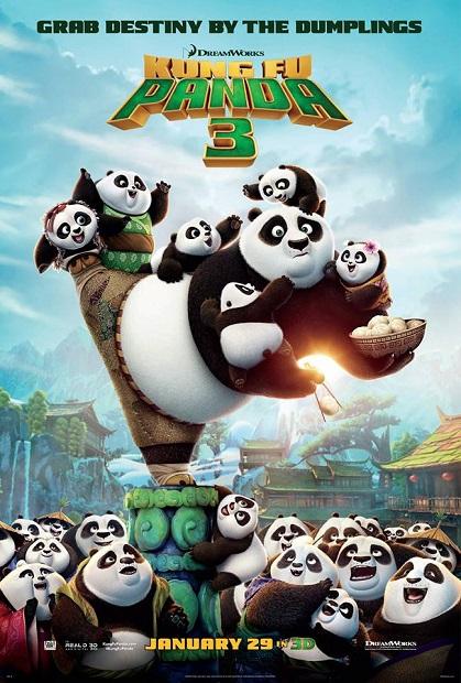 KF Panda 3-Poster
