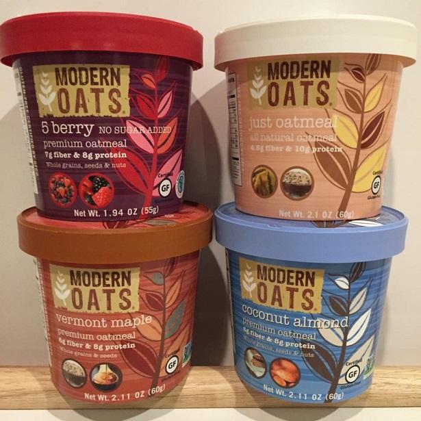 Modern Oats_Four NEW Flavors