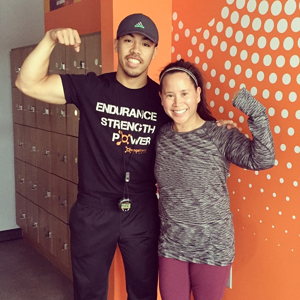 Orangetheory - Me and Ethan