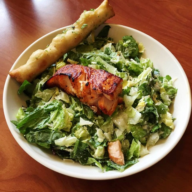 Stonefire Grill_Caesar Salad With Salmon