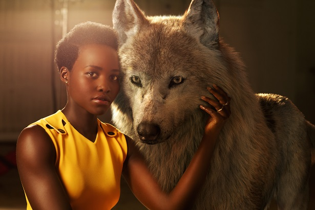 THE JUNGLE BOOK - Lupita Nyong'o voices Raksha, a mother wolf. Photo by: Sarah Dunn. ©2016 Disney Enterprises, Inc. All Rights Reserved.