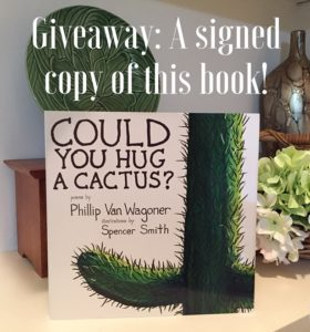Could You Hug a Cactus Book - Giveaway
