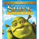 Shrek Anniversary Edition Blu-ray DVD Giveaway