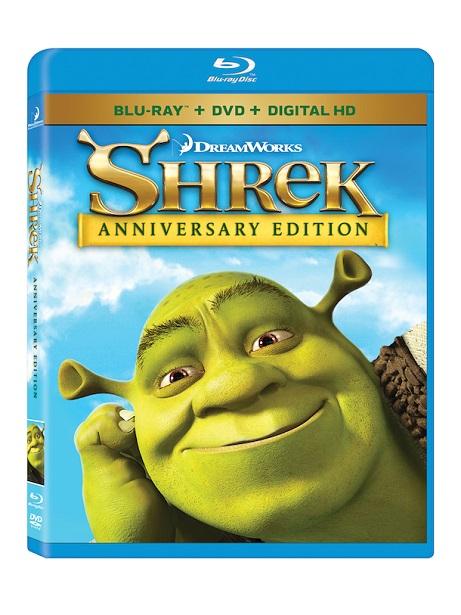 Shrek Anniversary BluRay Giveaway_DVD Image