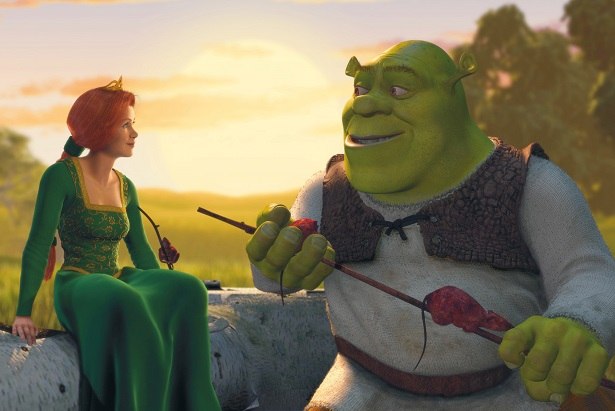 Shrek Anniversary BluRay Giveaway_Shrek-Fiona