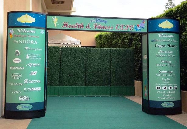 runDisney - Health Expo Entrance