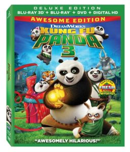 Kung Fu Panda 3 Awesome Edition Blu-ray DVD Giveaway