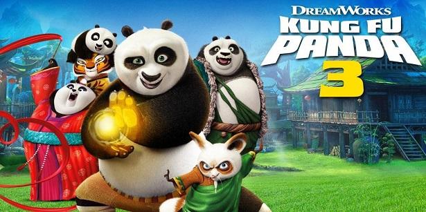 Kung Fu Panda 3_DVD_Cast