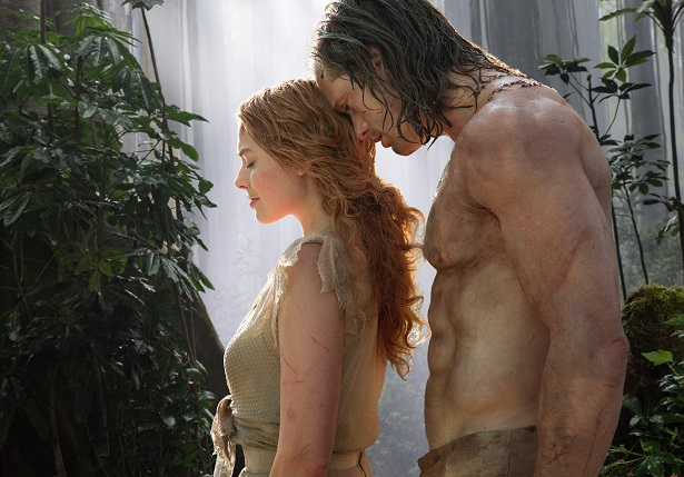 Legend of Tarzan - Film Scene - Alexander Skarsgard and Margot Robbie