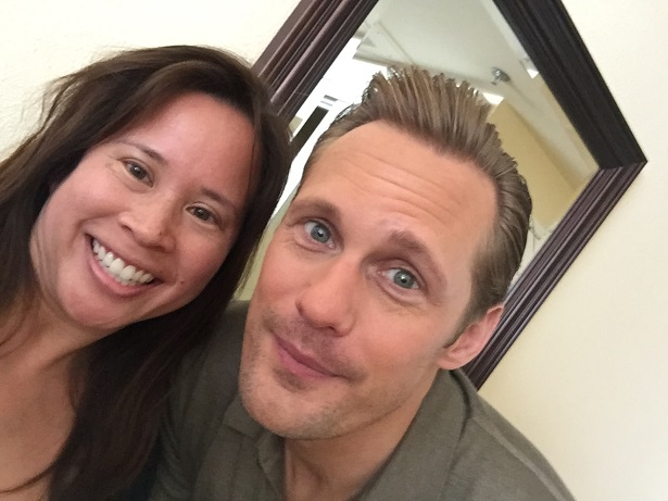 Legend of Tarzan - Me with Alexander Skarsgard