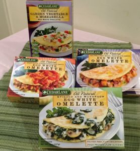 Egg White Omelettes From CedarLane – Breakfast Made Easy!