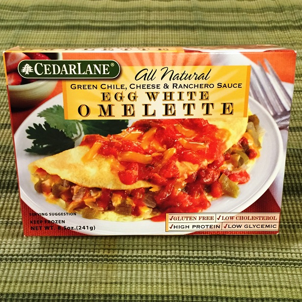 CedarLane Egg White Omelettes - Green Chile, Cheese and Ranchero Sauce