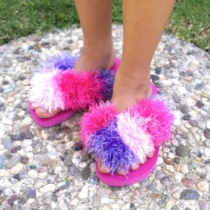 Leslie Dinstman - Pink Flippie Slippies