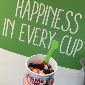 Nintendo-Inspired Flavors at Yogurtland