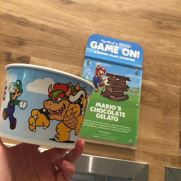 Nintendo-Inspired_Yogurtland_Mario's Chocolate