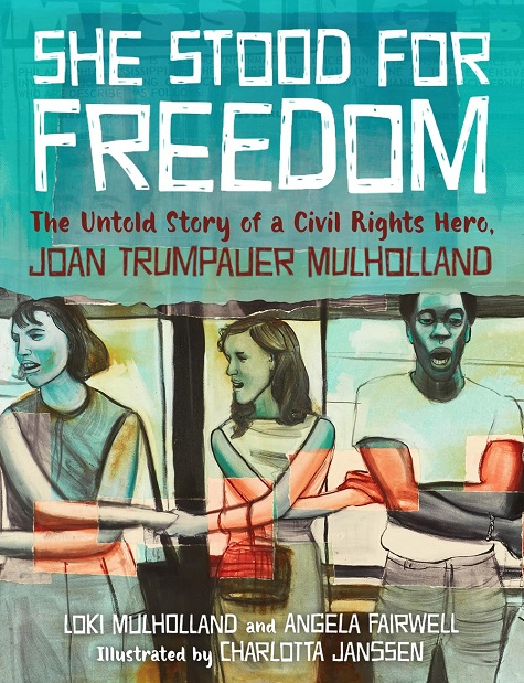 She Stood For Freedom - Book Cover