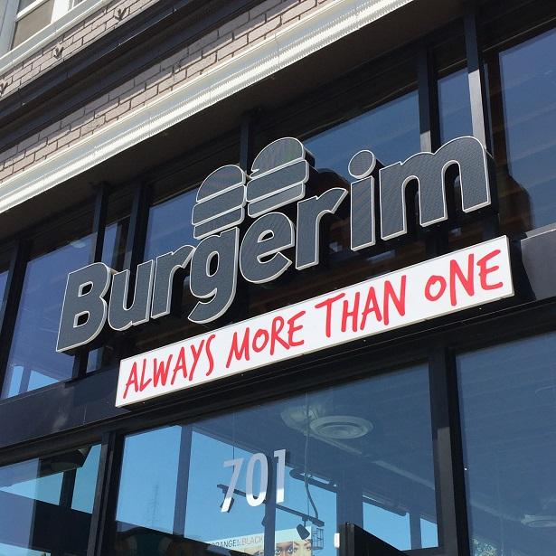 Burgerim - Signage