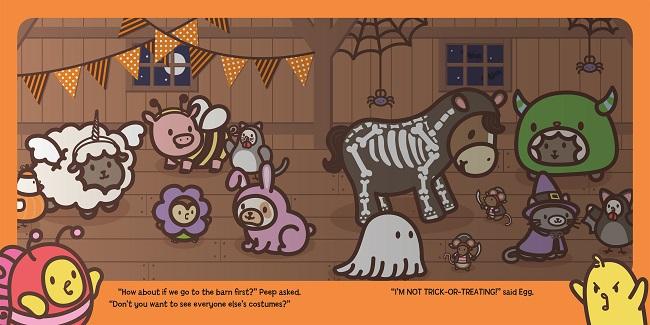 Peep & Egg_Halloween Story