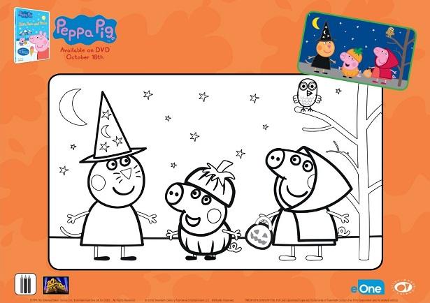 Peppa Pig DVD_Activity Sheet