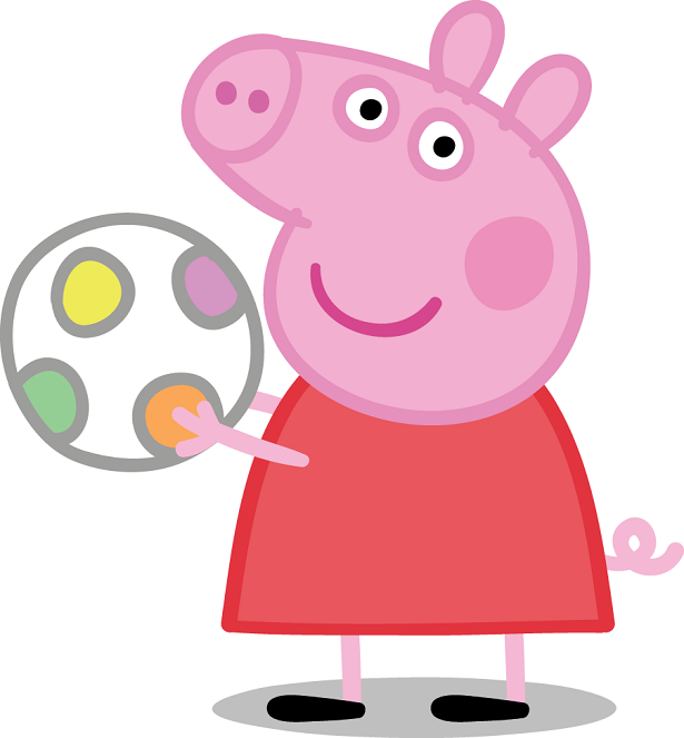 Peppa Pig Sun Sea Snow Dvd Giveaway on Winter Connect The Dots