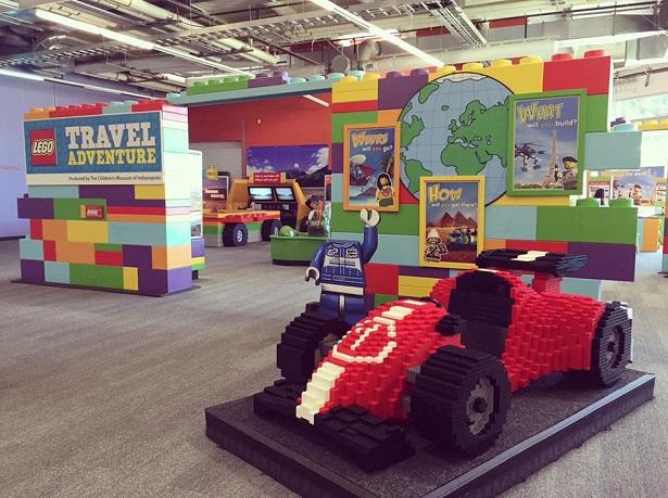 Spooky Science - Lego Travel Exhibit