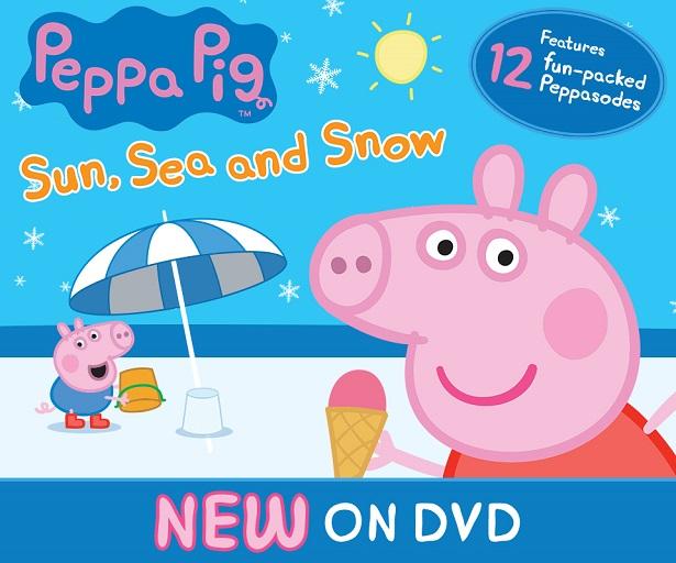 Peppa Pig DVD_DVD Info