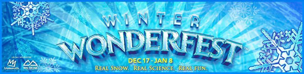 Discovery Cube Winter Wonderfest Banner