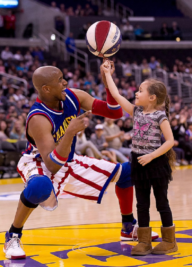Harlem Globetrotters Little Girl