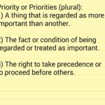Priorities – My Word of the Year for 2017