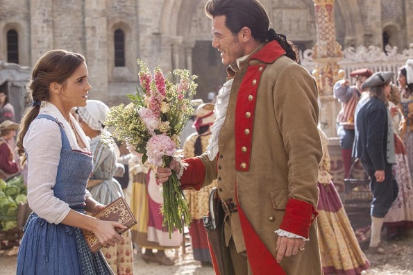 Beauty And The Beast Belle and Gaston
