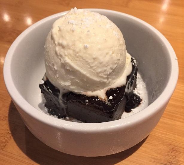 Islands Topanga Fudge Brownie Dessert