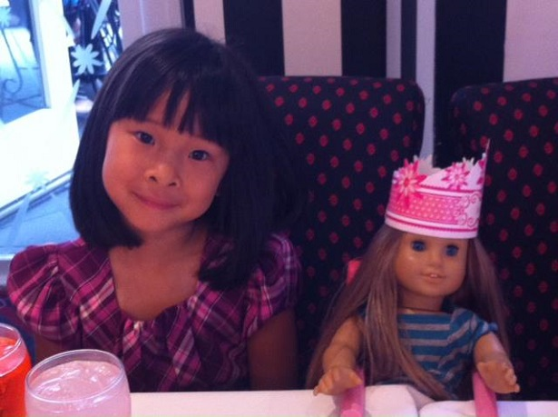 American Girl Store Tea Party