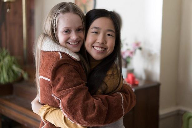 American Girl Story Ivy & Julie Hugging