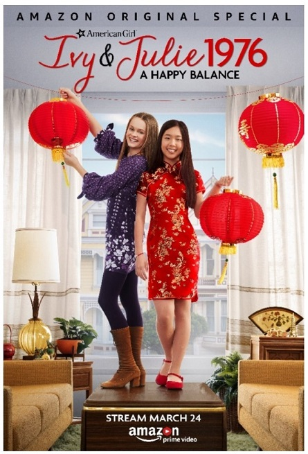 American Girl Story Ivy & Julie_Poster