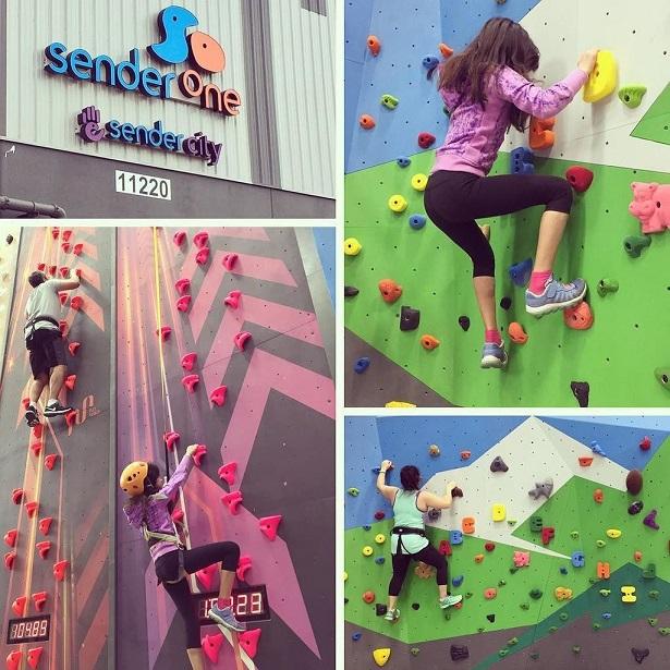 Sender City Family Climb