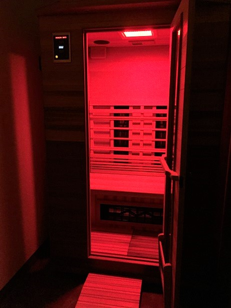 Spa Le La - Infrared Sauna Open Door